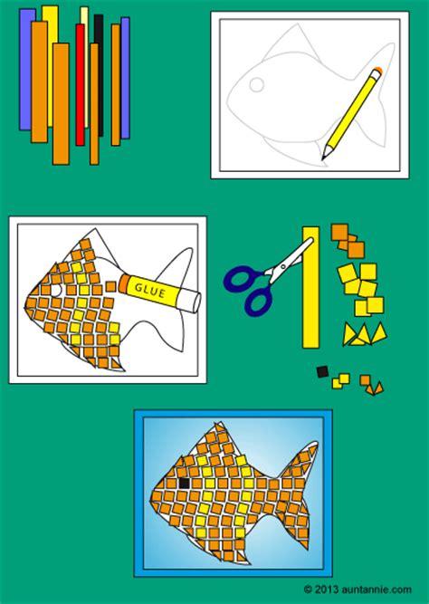 paper mosaics friday fun aunt annies crafts
