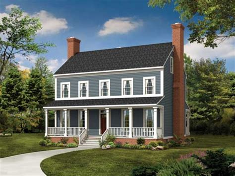 farm house house plans 2 colonial front makeover 2 colonial style