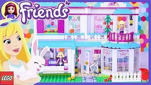 Lego Friends Stephanie39s House Build Setup Review Kids