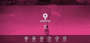 shootpro premium one page muse template With html welcome page template