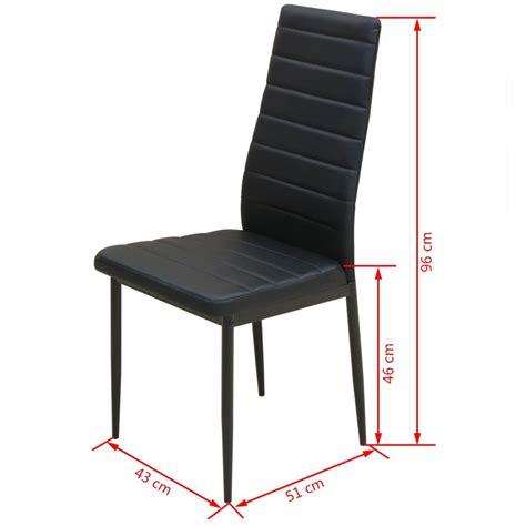 stoel en stoel vidaxl eetkamerset tafel en stoel zwart 3 delig online