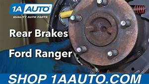 Ford Ranger E Brake Cable Replacement