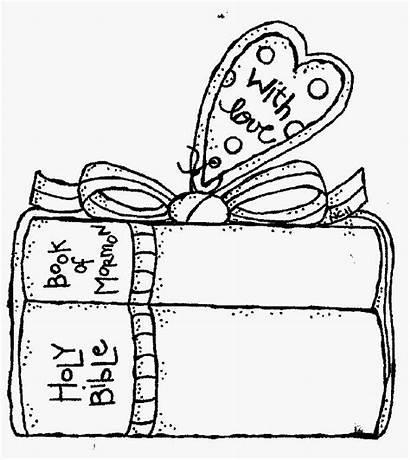Lds Melonheadz Primary Coloring Clipart Scripture Scriptures