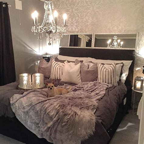 glam master bedroom ideas  pinterest bedroom