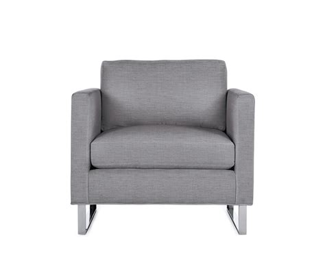 Designer Armchair by Goodland Armchair In Fabric Stainless Legs Armchairs