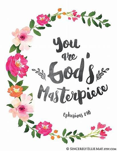 Masterpiece God Bible Scripture Birthday Clipart Quotes