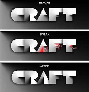 Papercraft Text Effect