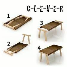 pin  zainul  woodwork   wood folding table