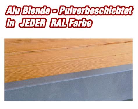 wetterschutzfolie für terrassen blende alu pulverbeschichtet 2meter f 195 188 r terrassen in jeder ral farbe bodenpflege shop