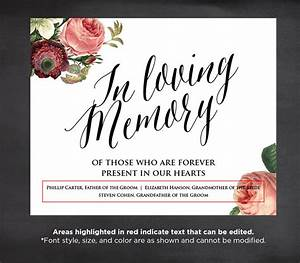 Pics for gt in loving memory of templates for In loving memory templates