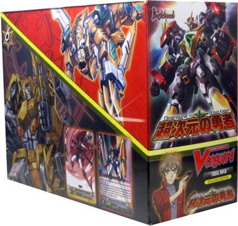 vanguard trial deck 12 trial deck 12 dimensional brave kaiser starter box of 6