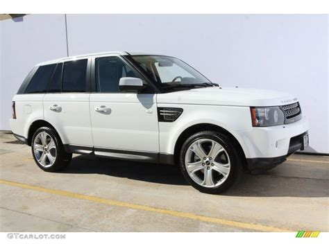 land rover hse white fuji white 2012 land rover range rover sport hse lux