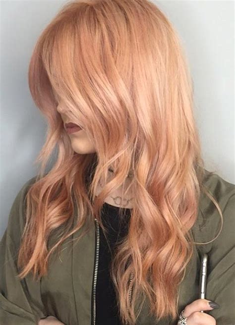 Gold Hair Colour by 65 Gold Hair Color Ideas For 2017 Gold Hair