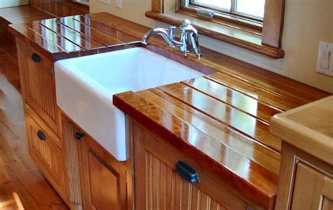 Custom Wood Countertops   Cutout and Jointing Options