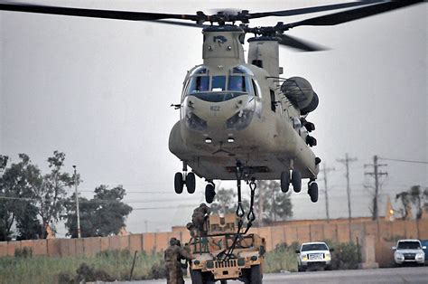 101st Airborne Division Task Force Strike Soldiers And Aviation Units Refine Sling Load Skills