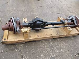 Dana 60 Front Steer Axle Assembly 4 56 Ratio 8 Lug Disc