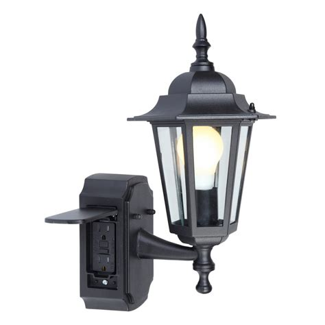 exterior light socket outlet wall lights design awesome outdoor wall light with outlet