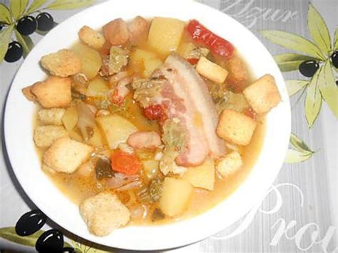 cuisine paysanne recette de soupe paysanne au lard fume