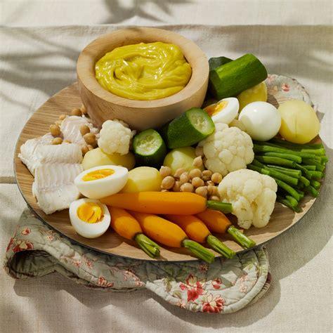 recette de cuisine de regime aioli traditionnel facile recette sur cuisine actuelle