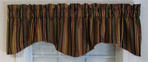 Striped Valances by Valances Swags Window Toppers 173 Thecurtainshop