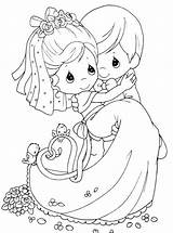 Coloring Pages Moments Precious Married Wife Husband Kidsdrawing sketch template