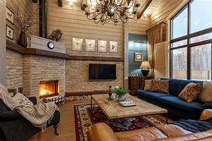 15, Corner, Fireplace, Ideas, For, Your, Living, Room, To, Improve, Home, Interior, Visual