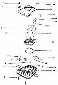 Eureka Upright Vacuum Cleaner Parts