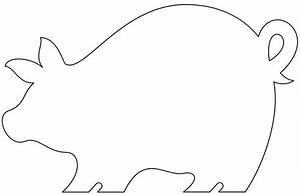 pig template animal templates free premium templates With pig puppet template