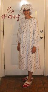 The Granny Costume - Peek-a-Boo Pages