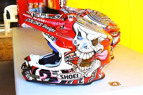 personalized motocross gear if you miss custom painted helmets click this moto