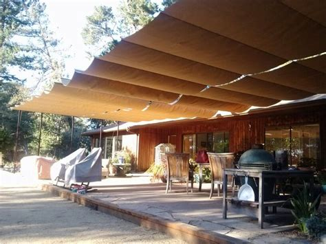 canvas patio covers shade sails custom tension structures fabric sails