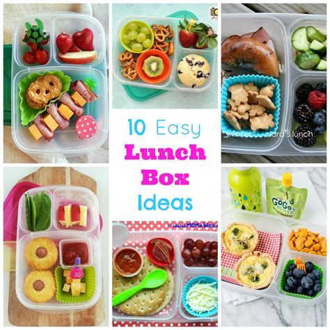 easy lunch ideas 10 easy lunch box ideas happy home fairy
