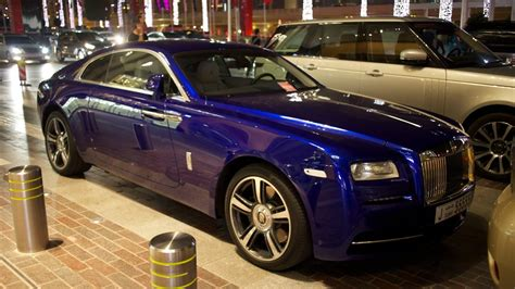 Royal Rolls Royce by Rolls Royce Wraith In Royal Blue