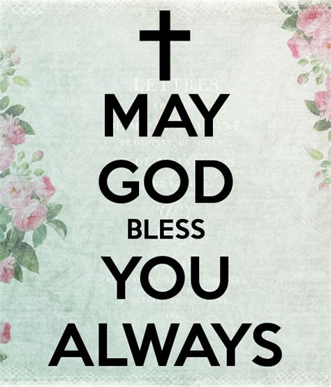 May God Bless Us All Quotes