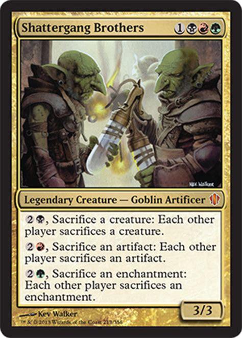 magic commander animar deck brainburst magic the gathering resource commander