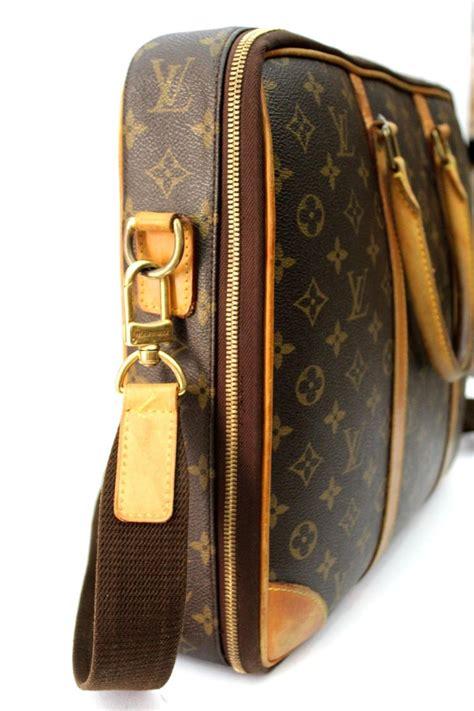 louis vuitton business bag icare messenger crossbody bag  sale  stdibs