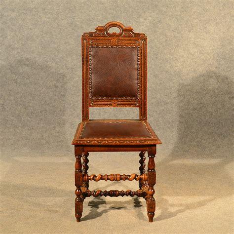 oak antique chairs antique oak chairs set 4 kitchen dining antiques 1124