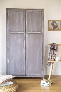Peinture Effet Patiné : relooking meuble repeindre et patiner une vieille ~ Melissatoandfro.com Idées de Décoration