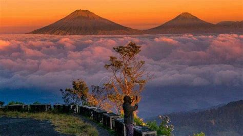 gunung telomoyo pendaki bahkan bisa mencapai puncak
