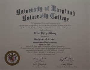 Bachelor Degree Diploma UMUC