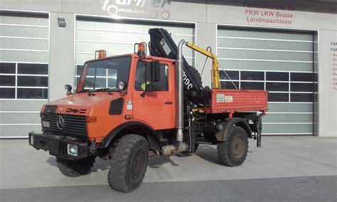 gebrauchte bundeswehrfahrzeuge unimog mercedes unimog u1250 4x4 landwirt