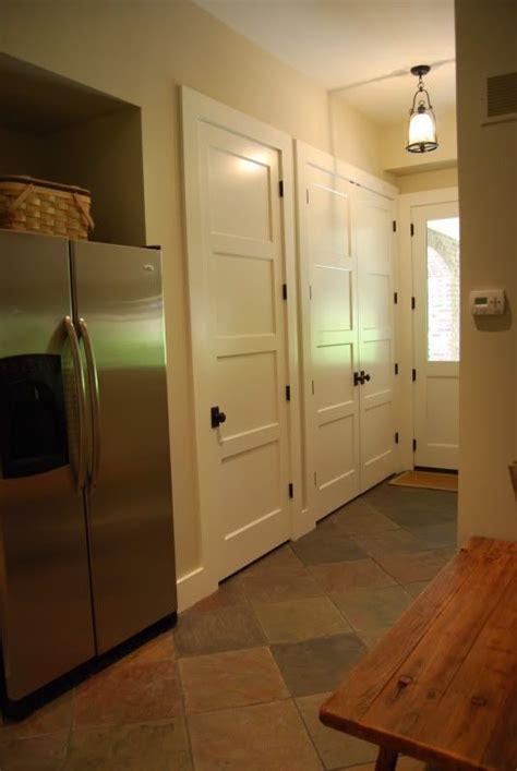 home interior     panel recessed door