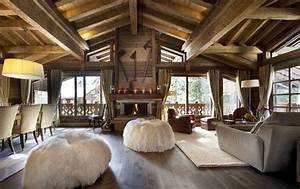 salones rusticos 50 ideas perfectas para casas de campo With attractive exemple de decoration de jardin 12 photo decoration deco appartement a la montagne 9 jpg