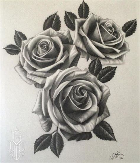 extremely beautiful rose tattoos designs tattooset