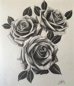Drawn tattoo realistic - Pencil and in color drawn tattoo ...