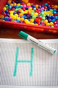Preschool letter h in my world for Letter pin board