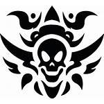 Tribal Skull Tattoos Icon Hq