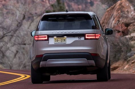 discovery land rover back 2017 land rover discovery review review autocar