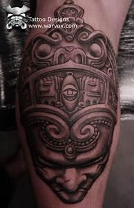 Aztec, Mayan, Inca, PreHispanic Tattoo Designs – Instant ...