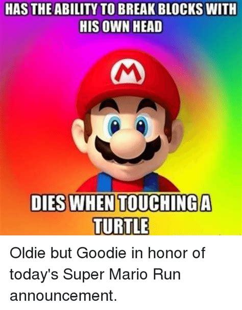 Super Mario Memes - funny super mario memes of 2017 on sizzle super mario run